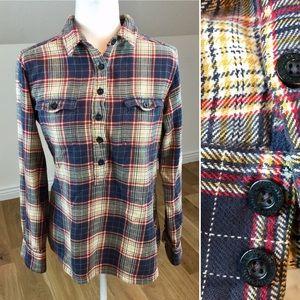 Patagonia Plaid Flannel 100% Cotton Shirt Size 6